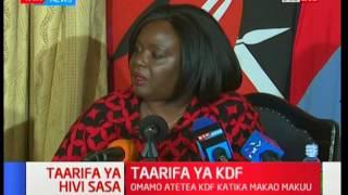 CS Raychelle Omamo refutes the authenticity of the letter to NASA leader Raila Odinga: Kivumbi 2017