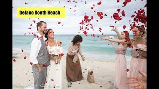 Delano South Beach Wedding Photography - Ashley & Brandon