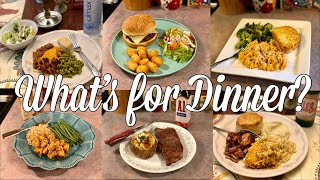 What's for Dinner| Easy Family Meal Ideas| February 2020
