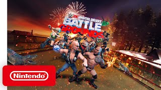 First WWE 2K Battlegrounds Gameplay Clip from Nintendo Direct! (Fatal 4 Way Match)