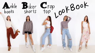 I Styled A Different Outfit For Every Letter of the Alphabet | BACK TO SCHOOL OUTFITS 2020