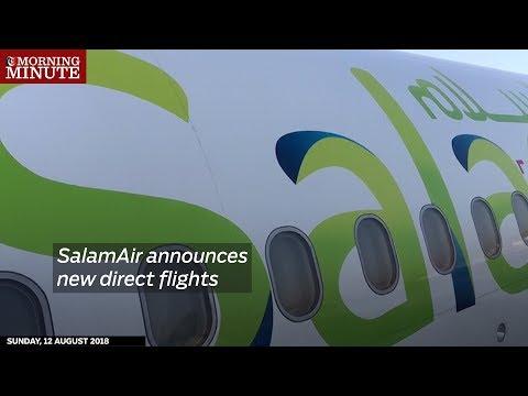 SalamAir announces new direct flights