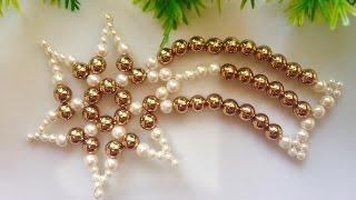 How To Make Christmas Ornaments 2019   Christmas Decorations Ideas   Beads Art