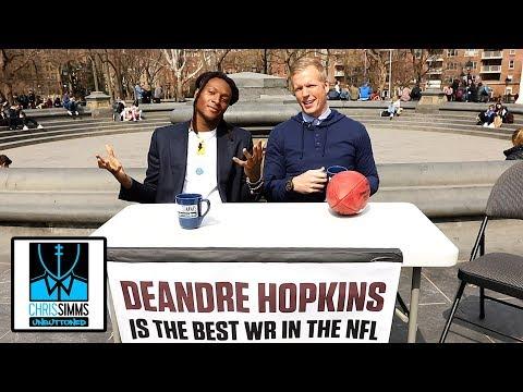 DeAndre Hopkins challenges fans to tell him he's not NFL's best WR | Chris Simms Unbuttoned