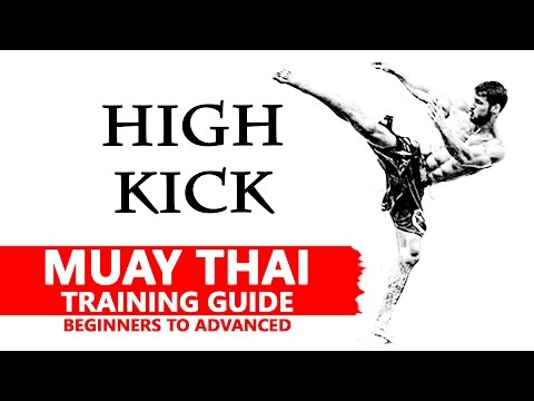 Muay Thai Training | High kick | มวยไทย
