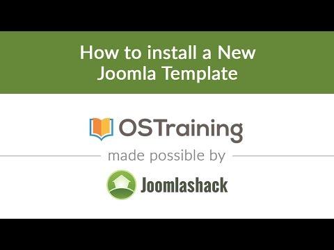 Joomla Beginner Class, Lesson 34: How to Install a New Joomla ...