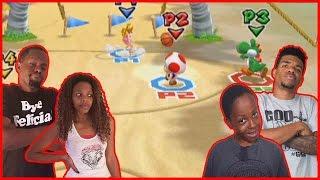 A FINISH YOU WON'T BELIEVE!! - Mario Sports Mix Basketball Gameplay Wii U Gameplay