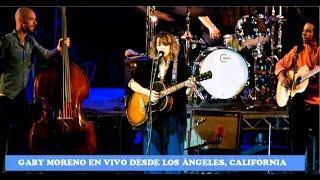 Gaby Moreno en vivo desde Los Ángeles, California