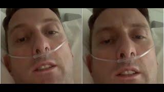 Chory na koronawirusa tata 3 dzieci nagrał w szpitalu osobisty filmik. Każdy powinien usłyszeć jego