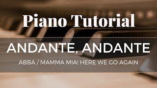 Andante Andante - Mamma Mia! Here We Go Again - Advanced Piano Tutorial