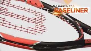 Ρακέτα τέννις Wilson Burn 100 video