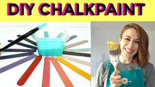 Best DIY Chalkpaint Recipe! Learn To Apply And Seal Your Chalkpaint !