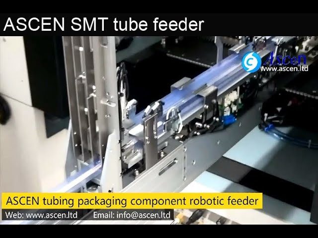 radial component tube feeder