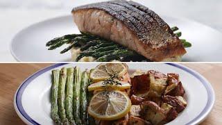 Easy Vs. Gourmet: Salmon Dinner