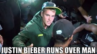 Justin Bieber Runs Over A Man With His Truck – CAUGHT On CAMERA