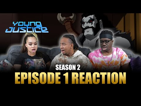 Happy New Year | Young Justice S2 Ep 1 Reaction