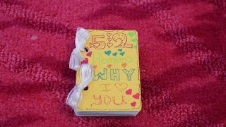 DIY: 52 Reasons Why I Love You Deck Of Cards