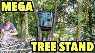 MOST INSANE TREE STANDS EVER SEEN!!! CUSTOM DEER HUNTING STANDS!!