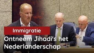 Hiddema: ontneem Jihadi's het Nederlanderschap