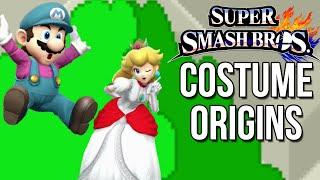 Super Smash Bros. Costume Origins - Mario Series - dooclip.me
