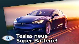 Aus für Verbrennungsmotoren: Teslas neue Super-Batterie: Günstiger und langlebiger als je zuvor!