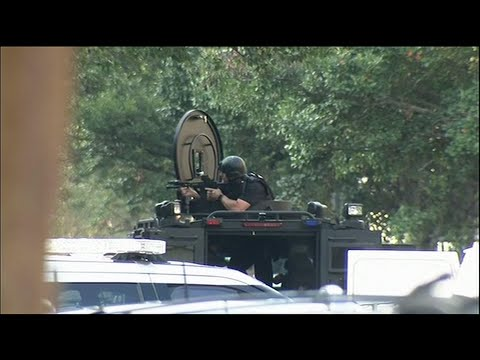 At least one gunman opened fire on Philadelphia police Wednesday afternoon, wounding at least six officers in a standoff that extended into the evening. (August 14)