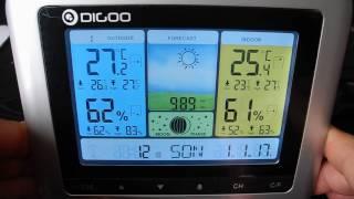 DIGOO TH8888 Pro Funk-Wetterstation