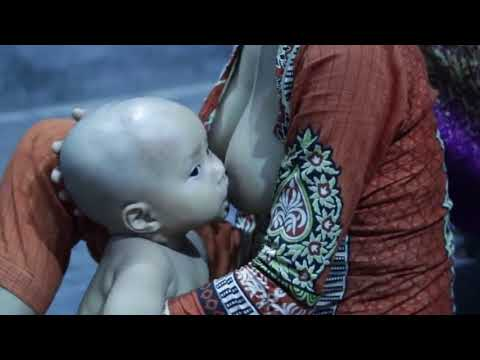 How to Breastfeeding Live in  Village Educational Purpose