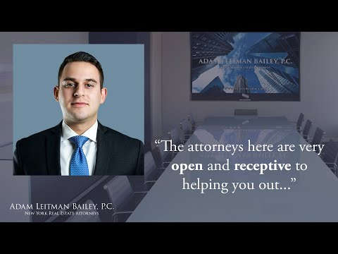 """The attorneys here are very open and receptive to helping you out…"" testimonial video thumbnail"