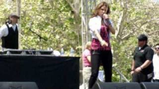 "Angelina ""Without Your Love"" KSFM 1025 Cinco De Mayo Concert Live Sacramento CA May 2 2010"