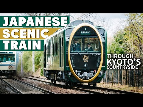 This Japanese Train Ride Experience is Incredibly Scenic!