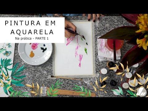 Imagem Video - Na prática: pintura em aquarela
