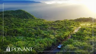 Ponant Cruises: The volcanic fjords with Evelyne Pradal