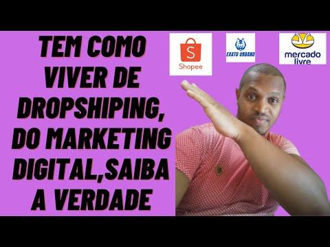 Tem como viver de dropshipping do marketing digital