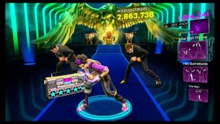 Dance Central 3 - Scream (Hard) - Usher - Gold Stars