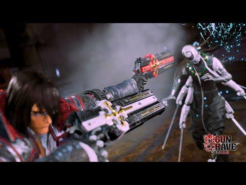 Gameplay Reveal + Extended Cinematic Trailer de Gungrave G.O.R.E