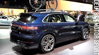 2018 New Porsche Cayenne Turbo - FULL Exterior and Interior Review - Brussels Motor Show | Kholo.pk