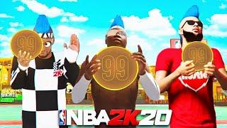 I UNLOCKED 3 UNQIUE 99 OVERALLS IN NBA 2K20..