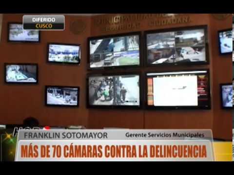 Cusco: más de 70 cámaras contra la delincuencia