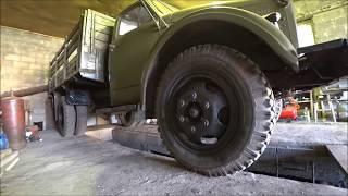 Поездка и смотрины ГАЗ-21 и ГАЗ-51 грузовика 1962-го года  после реставрации. 1 часть.