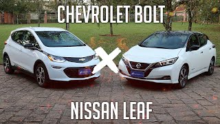 Comparativo: Chevrolet Bolt x Nissan Leaf