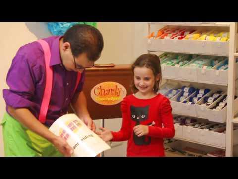 Kindershow De Sjarlie Sjow - Kindergoochelaar Charly Crama
