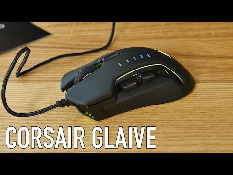 Corsair Glaive RGB Gaming Mouse Review   Are you the Glaive Master?