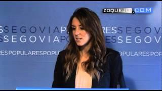 preview picture of video 'Raquel Fernández, candidata del PP a la Alcaldía de Segovia: Materializo el cambio'