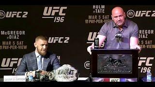 UFC 196: McGregor vs. Diaz Pre-Fight Press Conference (FULL)