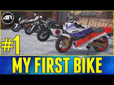 RIDE 2 Let's Play : CHOOSING MY FIRST BIKE & CUSTOMIZING!!! (Part 1)
