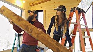 Building And Installing Rustic DIY FAUX BEAMS