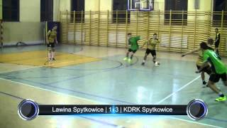 preview picture of video 'Lawina Spytkowice - KDRK Spytkowice | Podhalańska Liga Futsalu | 23.11.2013'
