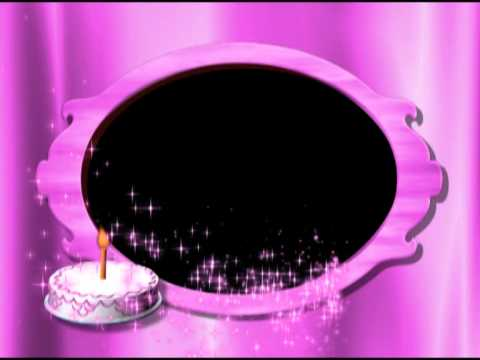 Birthday Cake  Pink Photo Frame Video Background   Animation Motion Graphics HD Mp3