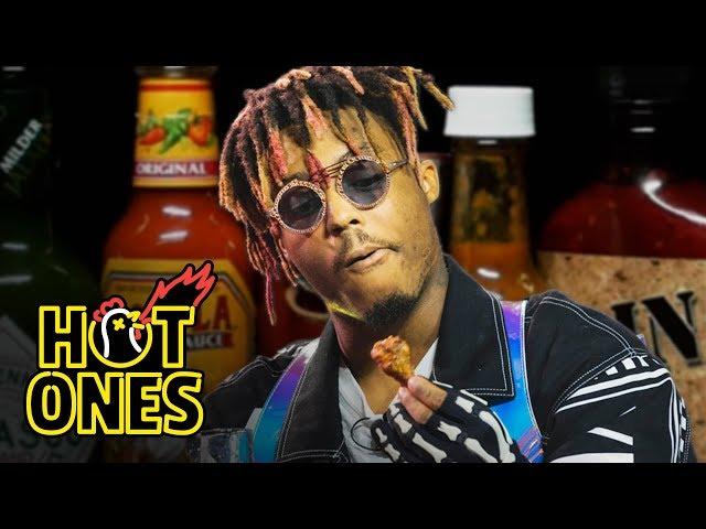Juice WRLD Eats Spicy Wings LIVE | Hot Ones